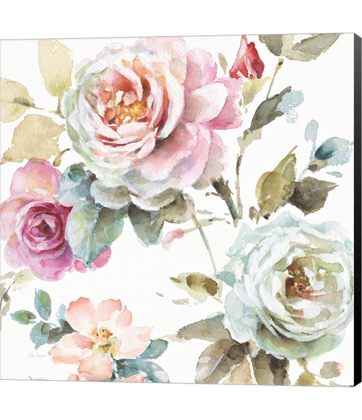 Metaverse Beautiful Romance V By Laura Marshall Canvas Art