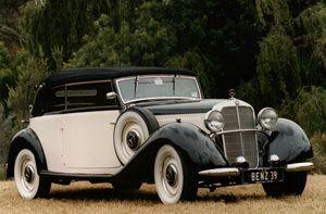 My Wedding Car - Mercedes Benz 260D Convertible