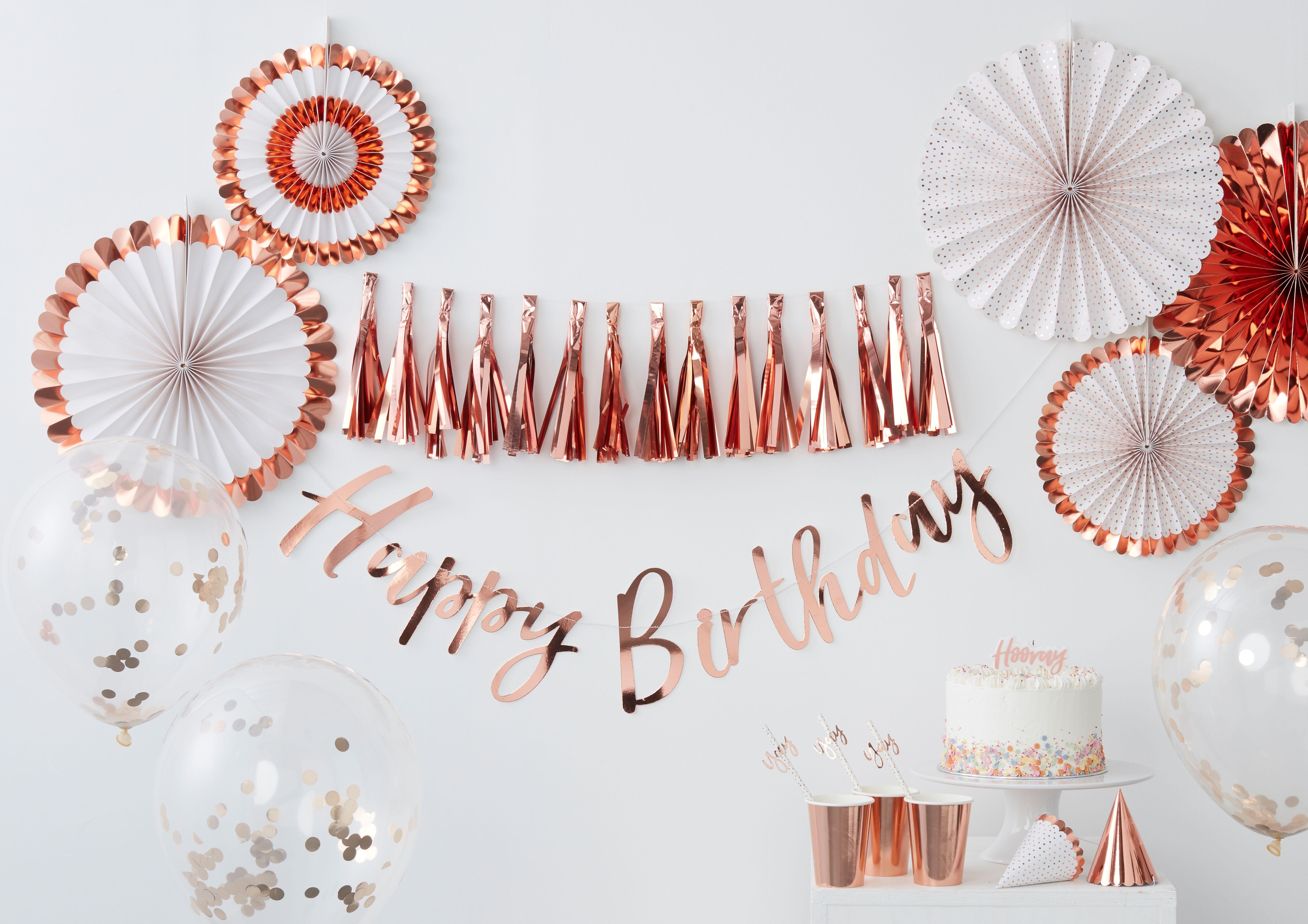 rose gold party | Decoracion fiesta cumpleaños, Decoración fiesta adultos, Decoración de fiesta