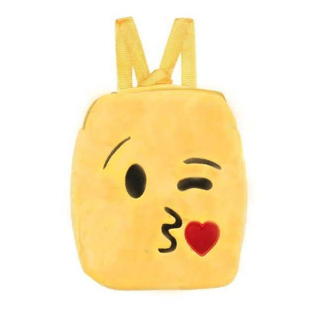 6e8535b22027 Xiniu Backpack Kids Cute Emoji Emotion Embossing Children Backpacks School  Bags For Teenagers Mochila Infantil  1215