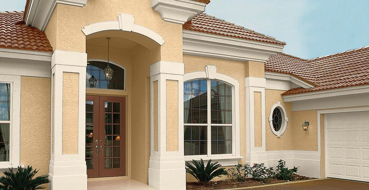 Sherwin Williams Color Palette Body Sw 7692 Cupola Yellow Trim 7557 Summer White Accent 7705 Wheat Penny