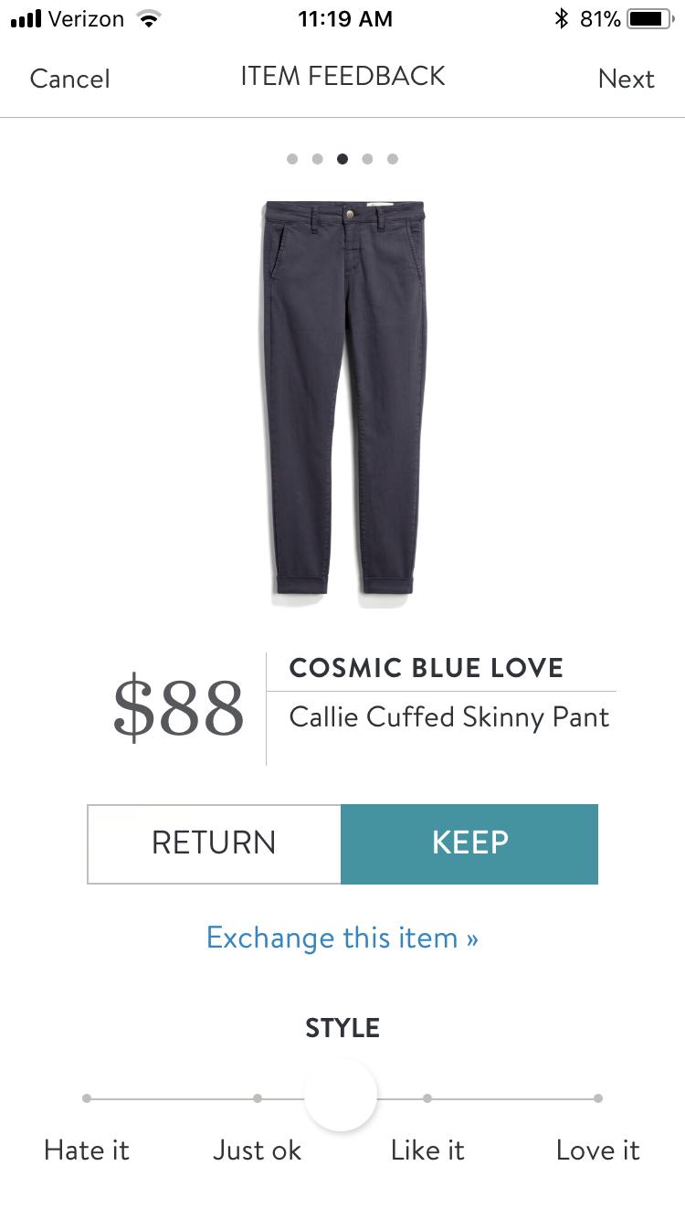 f9d43710cf46 Cosmic blue love Callie cuffed