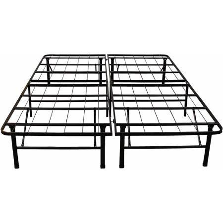 Modern Sleep Platform Metal Bed Frame Mattress Foundation | Home ...