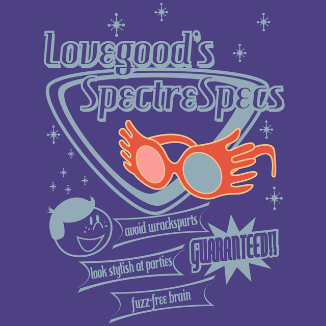 SpectreSpecs T-Shirt $12 Harry Potter tee at Fresh Brewed Tee!