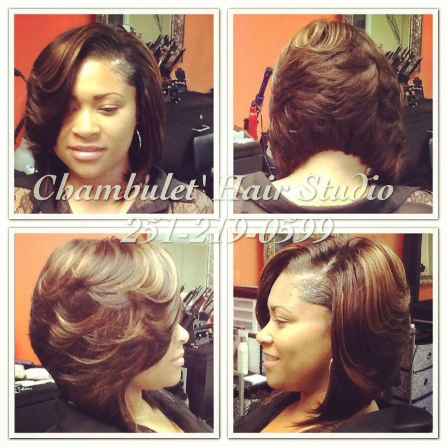 sew in bob! | hair salon | short hair styles, natural hair