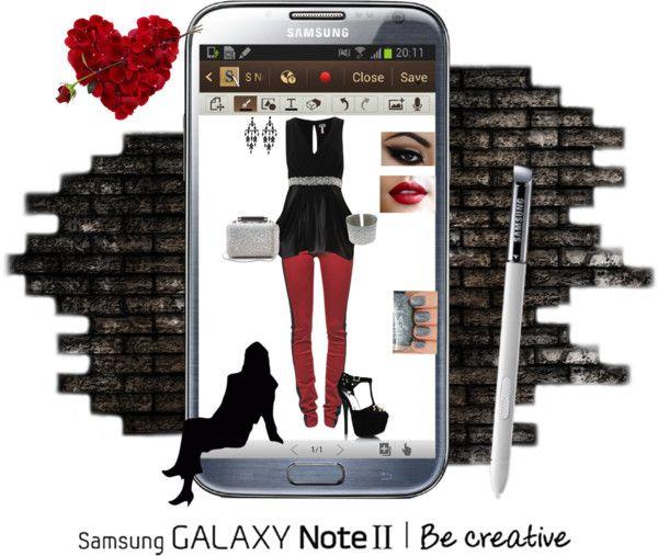 """Effortless Edge with Samsung"" by erinlindsay83 on Polyvore"