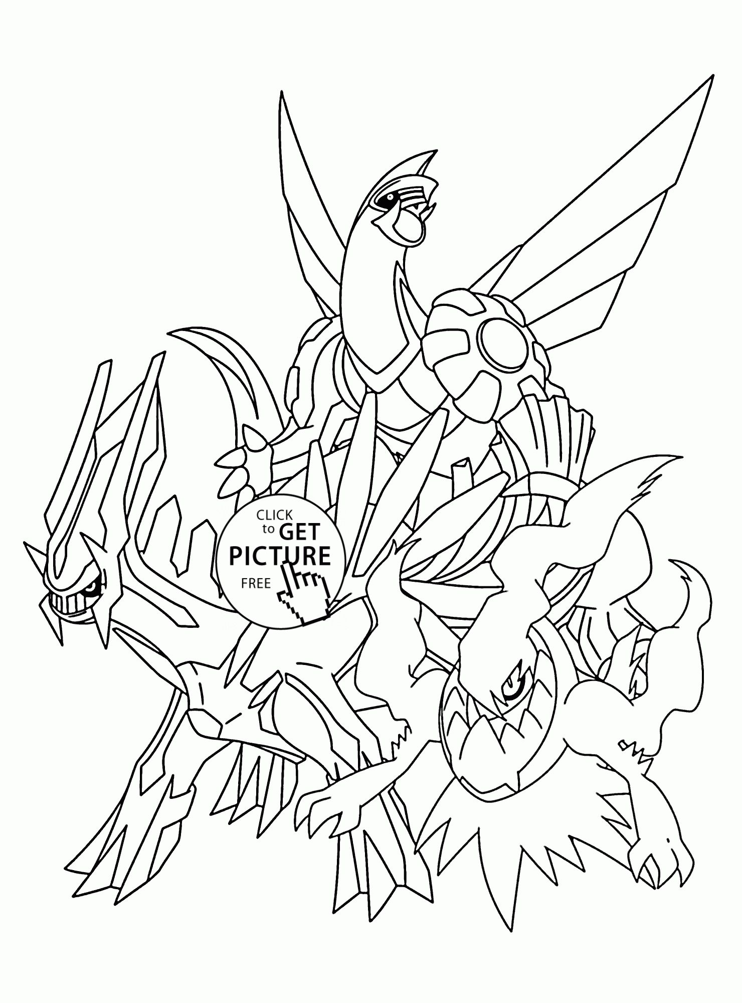 Pokemon Coloring Pages Of Legendaries (With images ...