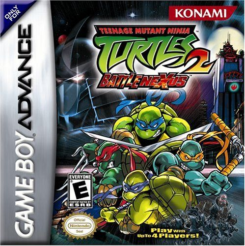 Teenage Mutant Ninja Turtles 2 Battle Nexus Konami Nintendo Game Boy Advance Ninja Turtles 2 Gameboy