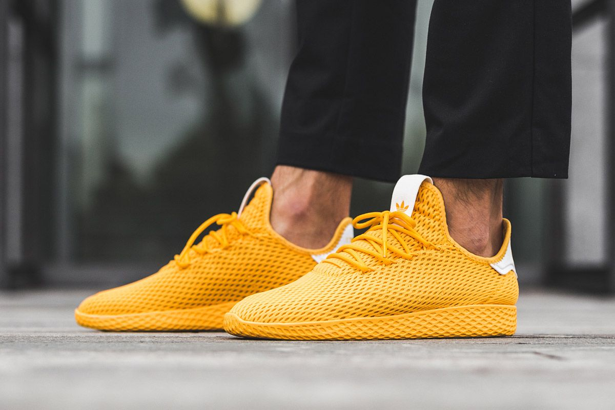 buy online 0ebf8 e9afa On-Foot  Pharrell Williams x adidas Tennis Hu  New York  Pack - EU Kicks   Sneaker Magazine