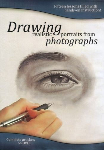 Drawing Realistic Portraits from Photographs DVD