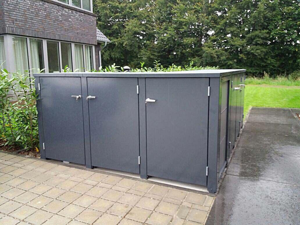 Wunderschön Eingangsüberdachung L Form Sammlung Von #mülltonnenbox, #müllbox Von Siebau