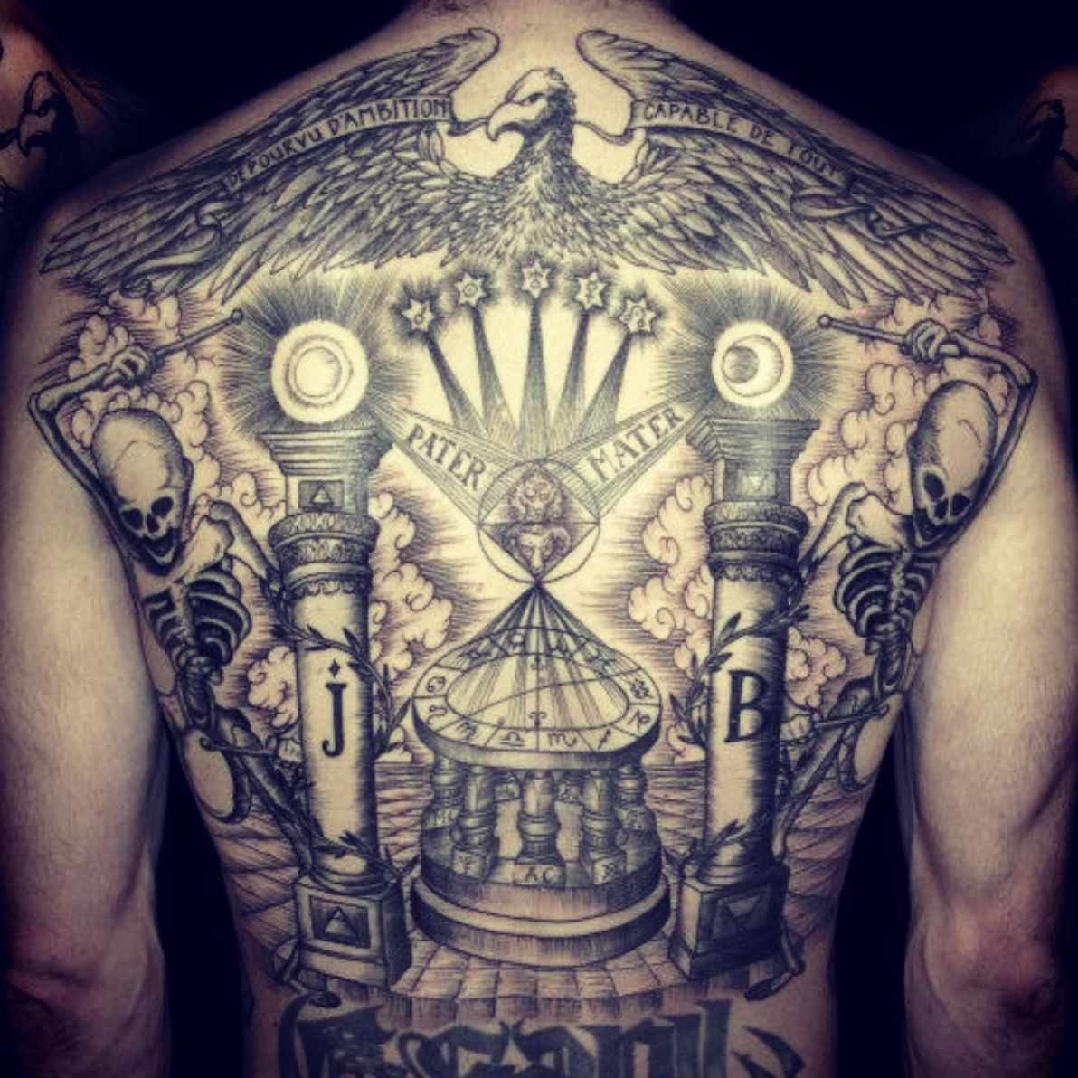 Pin By Mytorius On Believe Tattoo Men: Done By Easy Sacha - Mystery Tattoo Club -Paris