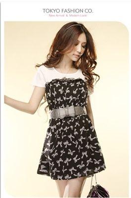 #D0537 Printed chiffon dress  women chiffon #2dayslook #new #chiffonfashion  www.2dayslook.com