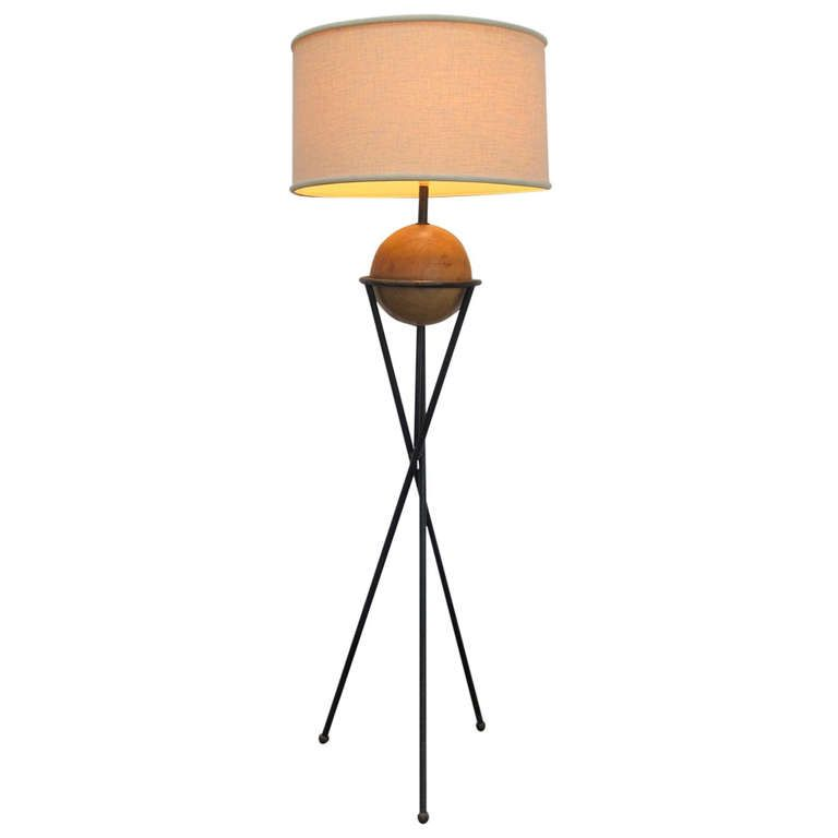 Mid Century California Studio Floor Lamp 1950 Studio Floor Lamp Floor Lamp Lamp