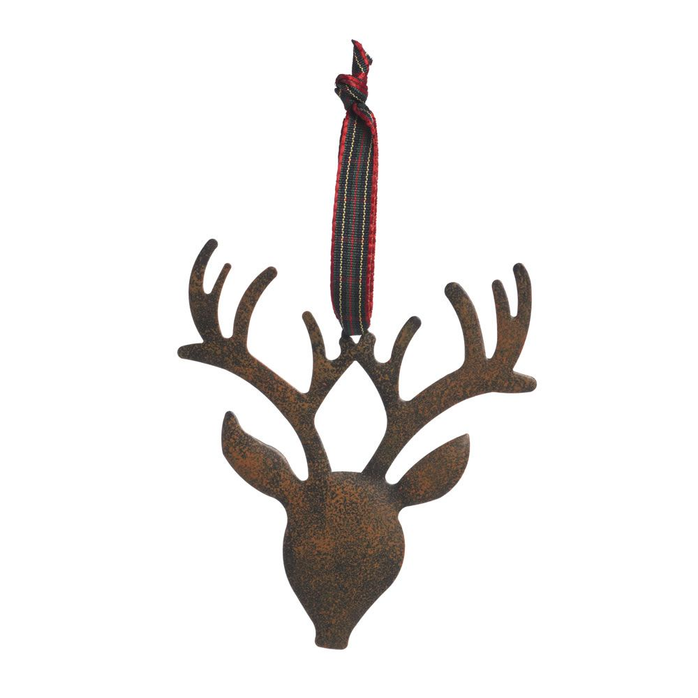 wilko wild wood decoration metal reindeer at wilkocom - Metal Reindeer Christmas Decorations