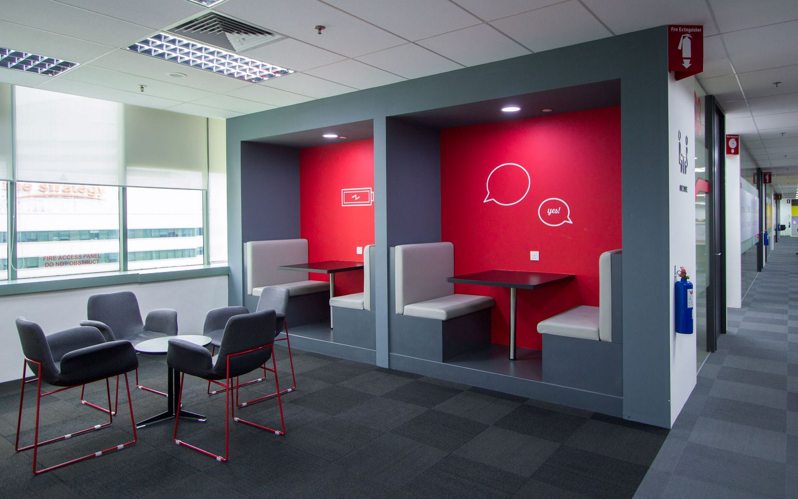 Office tour fmc technologies singapore offices office for Office interior design ideas singapore