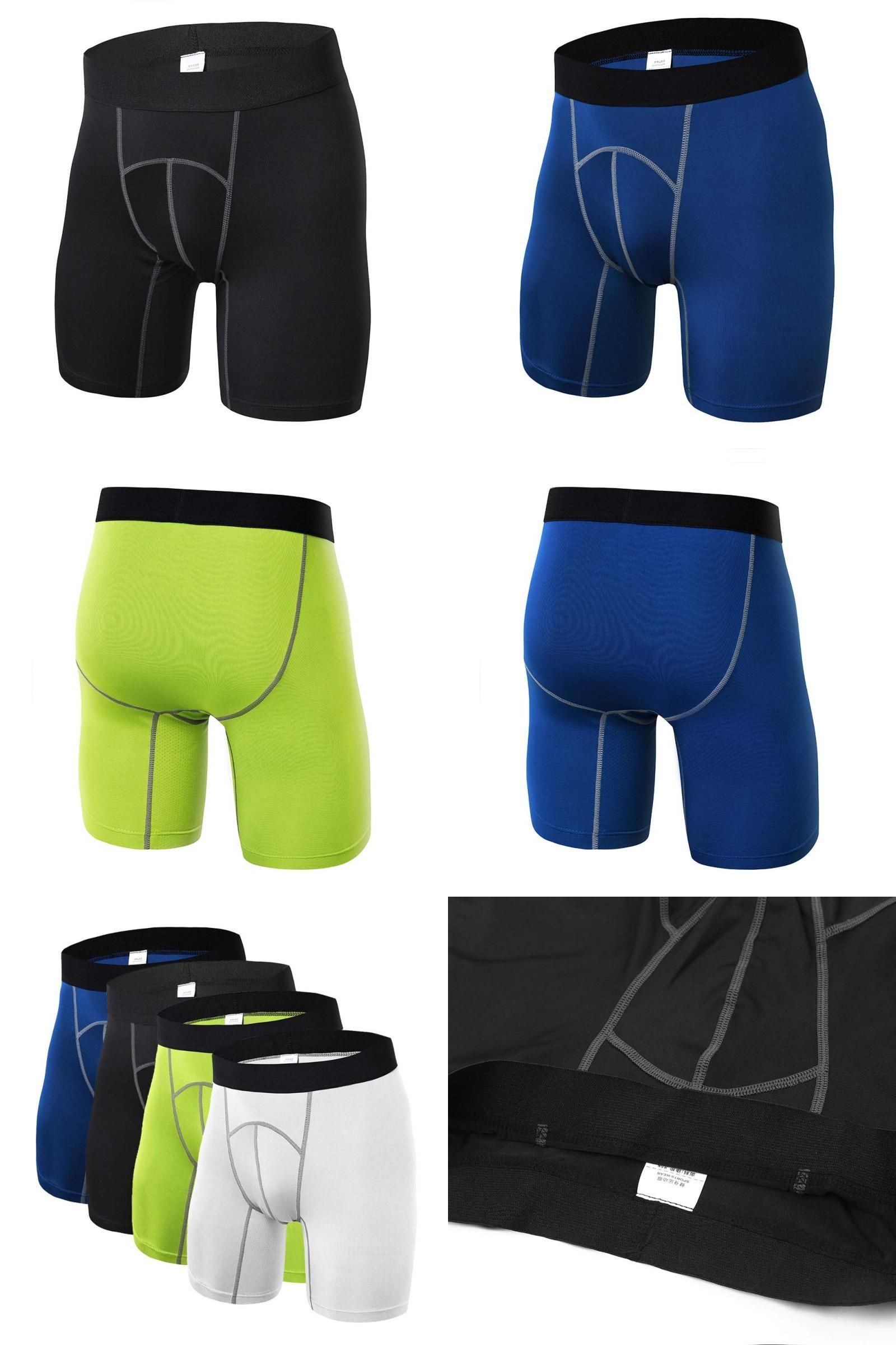 085a13747d0c  Visit to Buy  Mode Men Sports Apparel Tights Compression Base Under Layer  Short Pants