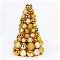 Kugle juletræ, guldmix