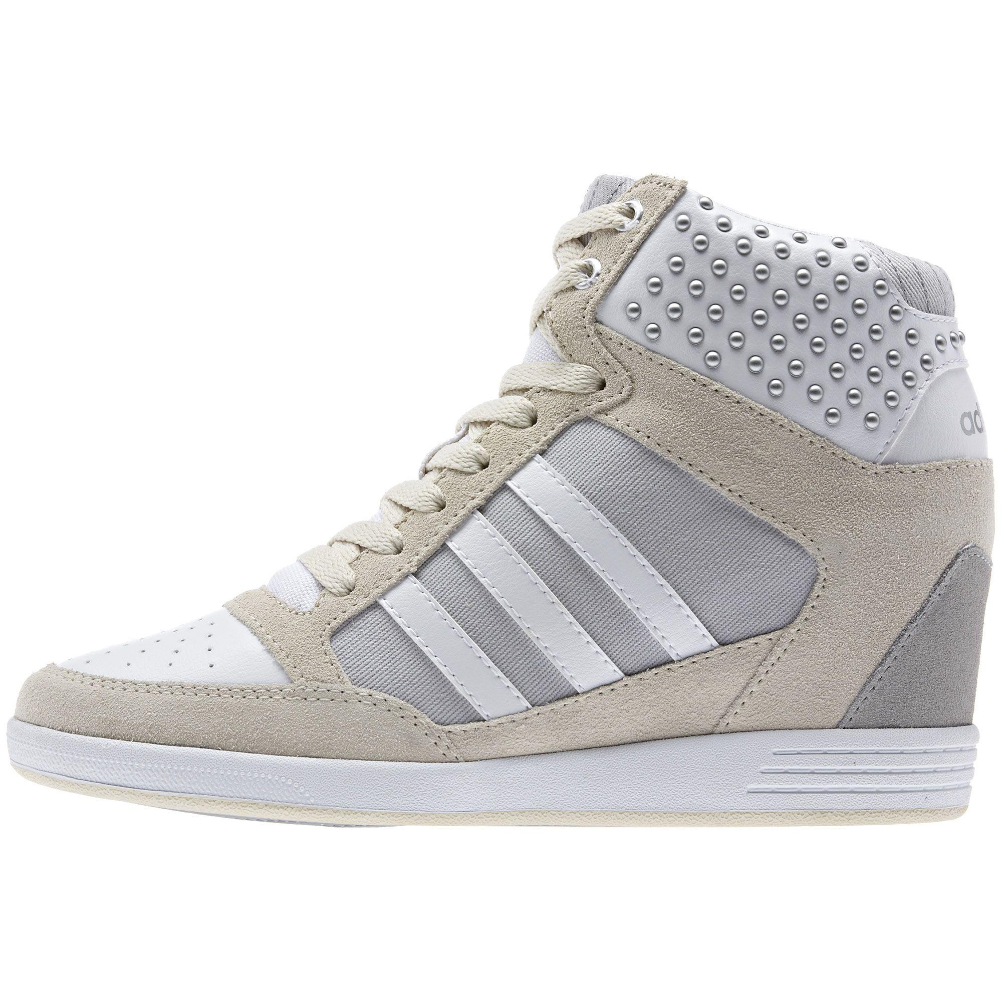 zapatillas de cuña mujer adidas