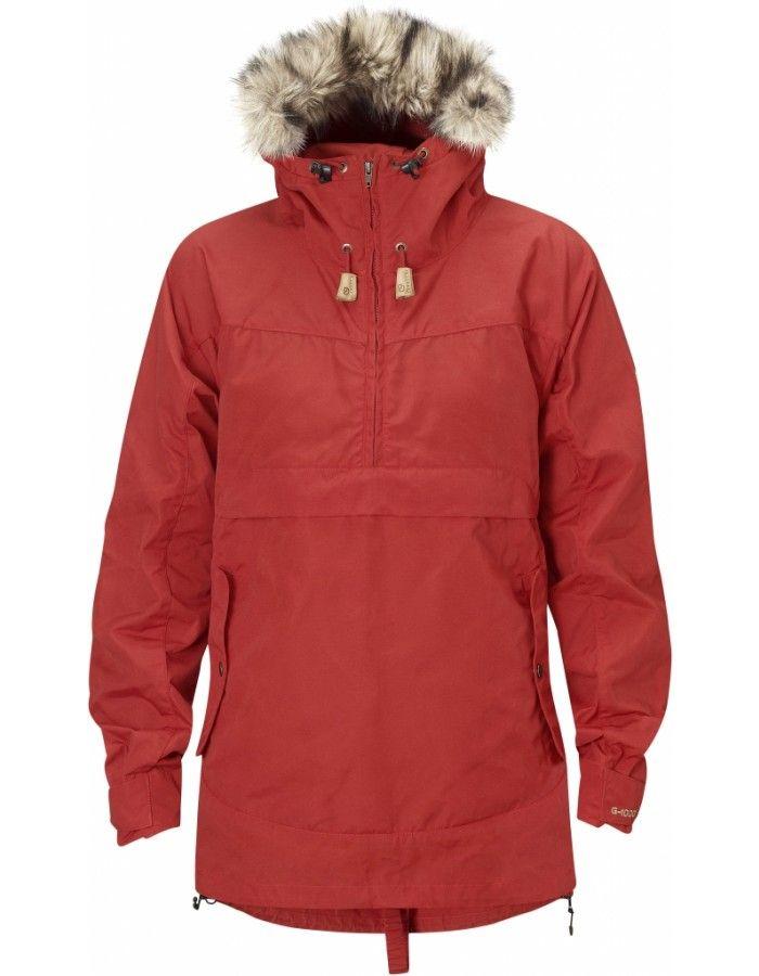 a9ea7d4e Fjellreven Iceland Anorak Dame - Red - L   Turklær   Anorak jacket ...