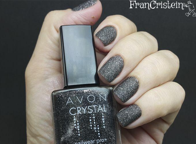 Avon: esmalte preto crystal | esmalted | Pinterest | Avon, Esmalte y ...