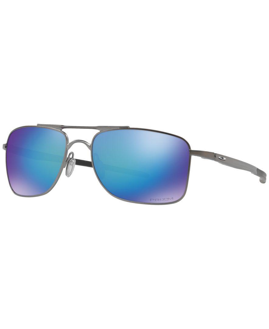 33f082637b3 ... buy oakley sunglasses elmont medium polarized mens satin chrome frame no.  77154 fd1d1