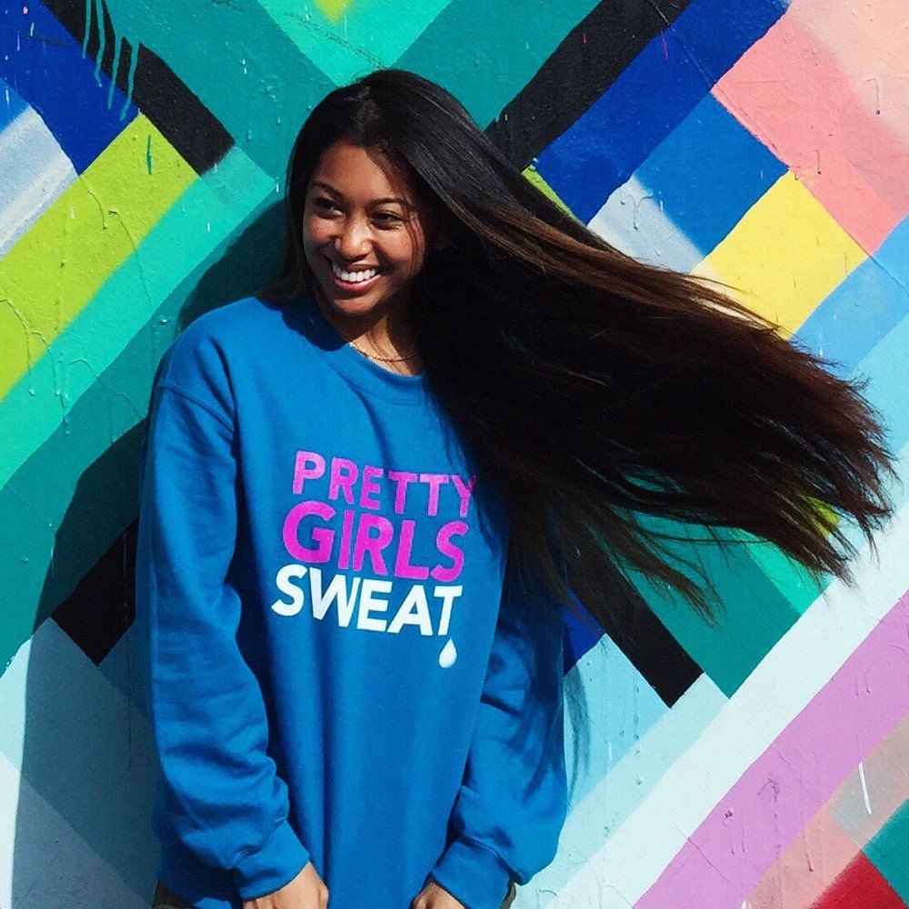 PGS SWEATSHIRT (blue) | Teen Diaries