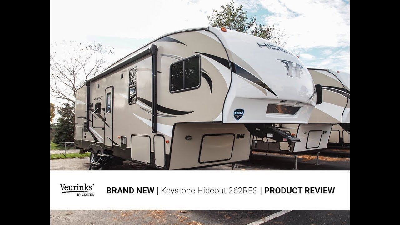 2018 Keystone Hideout 262res Rear Entertainment Fifth Wheel Veurinks Keystone Hideout Fifth Wheel Keystone