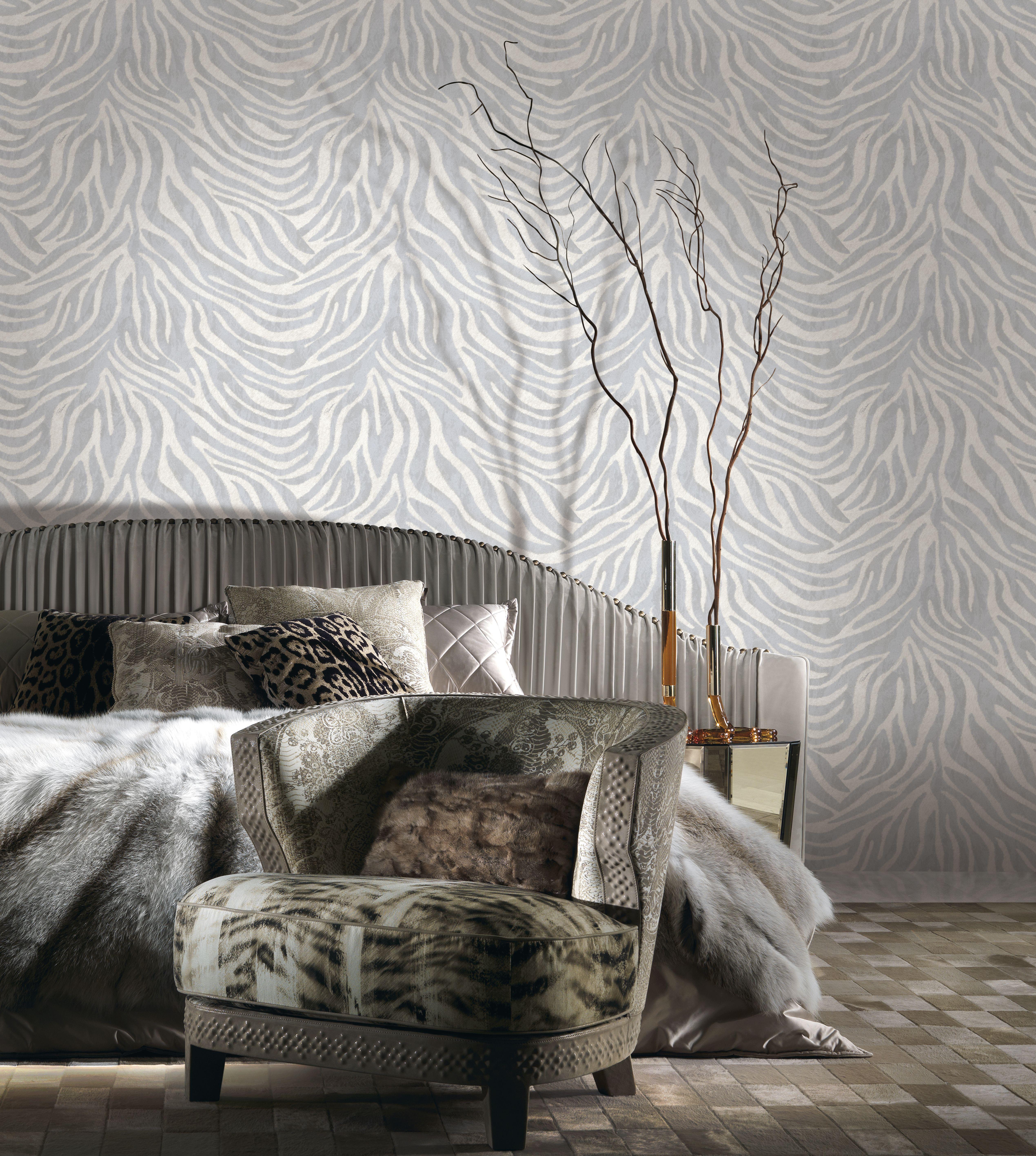 2020的Zebra skin animal print wallpaper RC15032