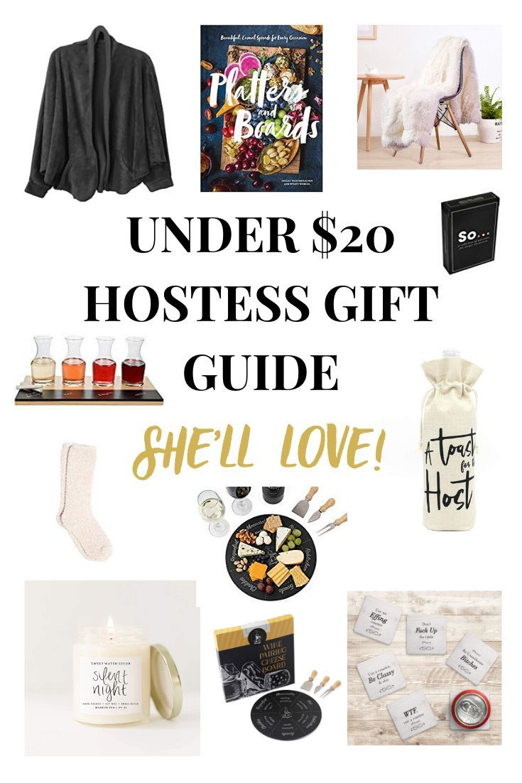 Hostess gift guide under 20 hostess gifts gift guide