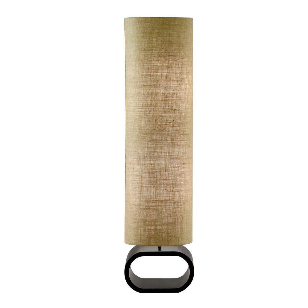 Adesso Harmony 47 In Burlap Floor Lamp Floor Lamp Contemporary Floor Lamps Floor Lanterns