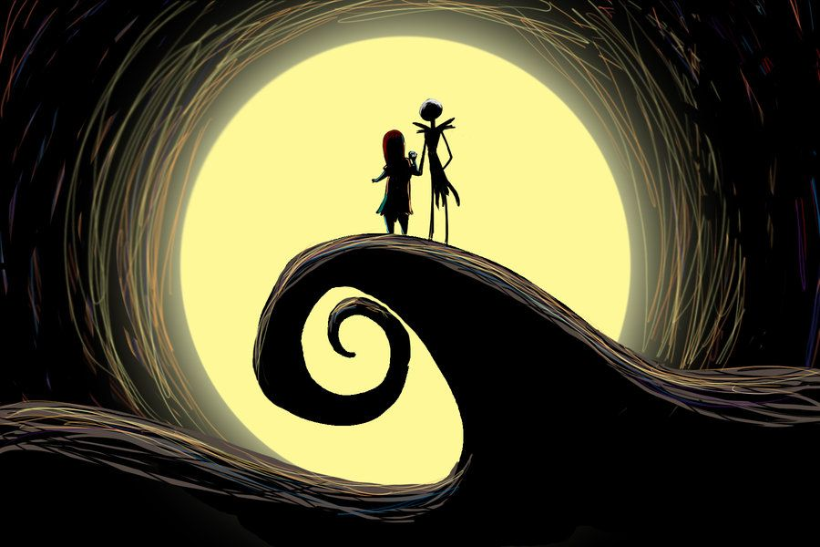Jack And Sally By Toodles3702 Jack And Sally Nightmare Before Christmas Wallpaper Cute Desktop Wallpaper