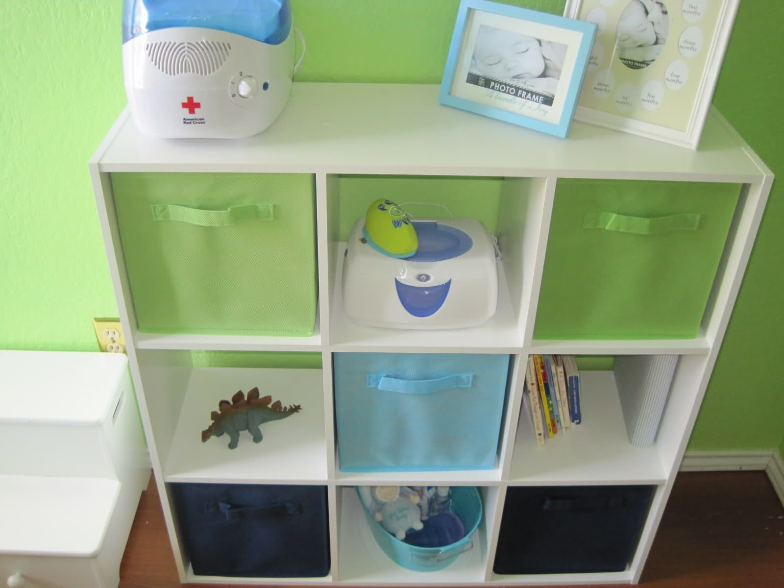 Storage For The Closet Matching Tubs Under Changing Table Would Work Also