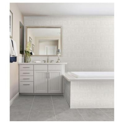 Daltile Meier Park Silver Strand 12 In. X 24 In. Glazed Ceramic Floor And  Wall Tile (14.96 Sq. Ft. / Case)