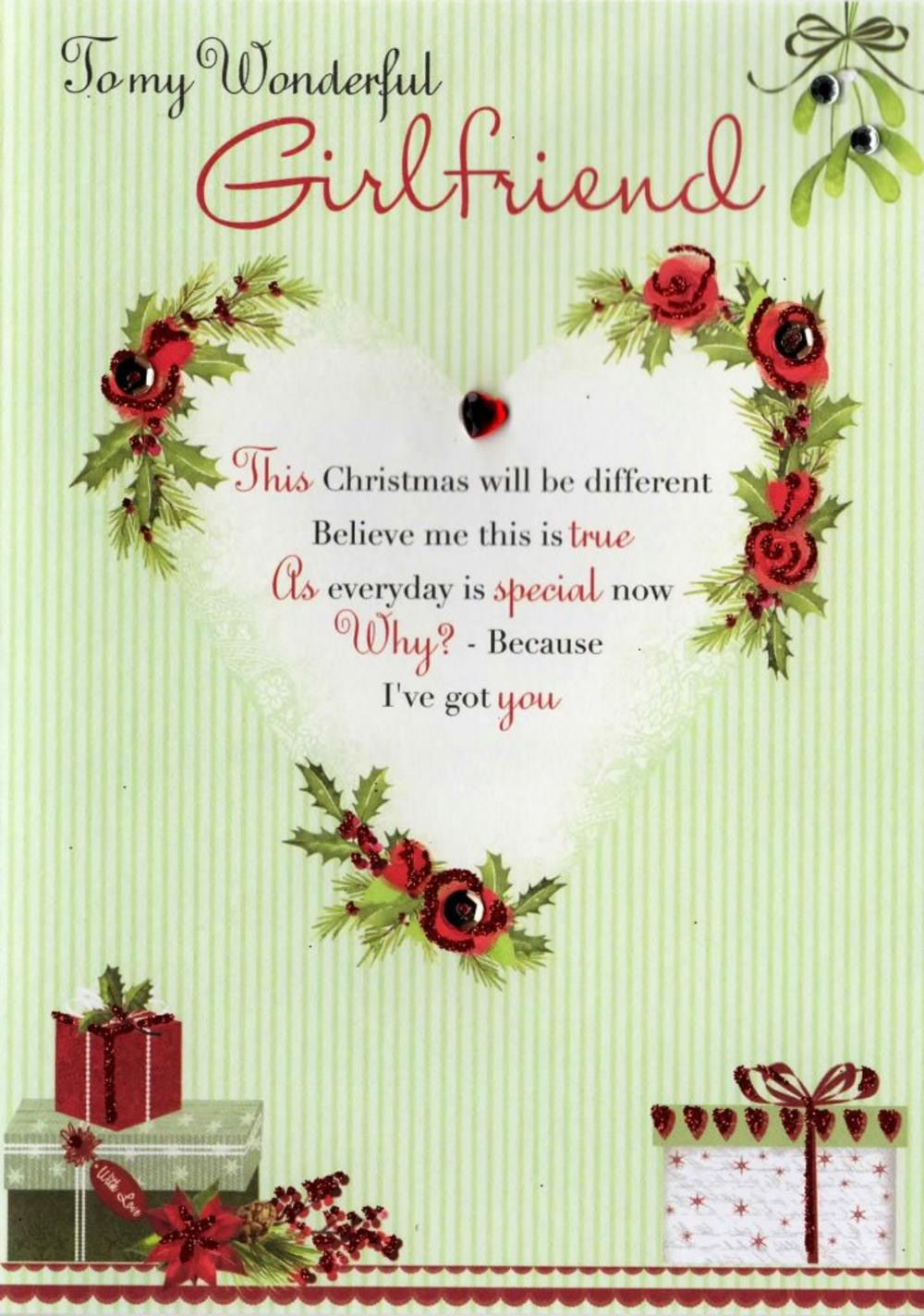 70 Lovable And Beautiful Christmas Message For Girlfriend
