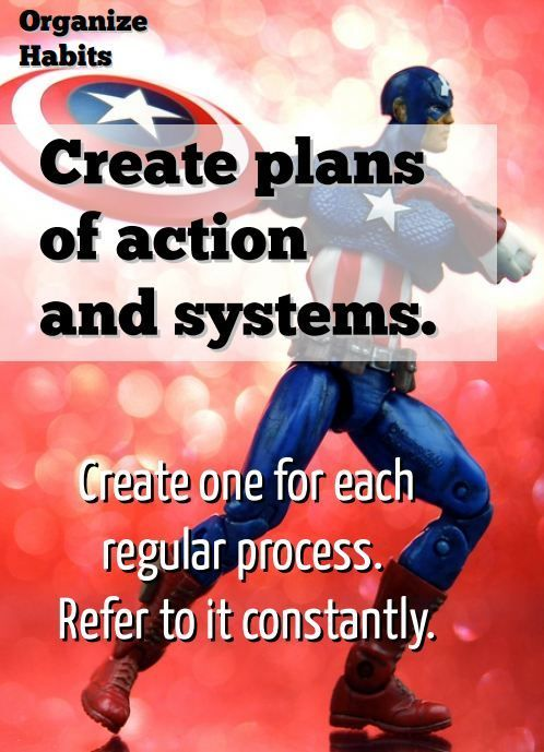Action Plans  Best Organizational Habits Presented By Your