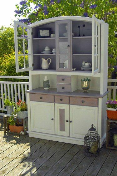 buffet schrank shabby chic vintage furniture pinte. Black Bedroom Furniture Sets. Home Design Ideas