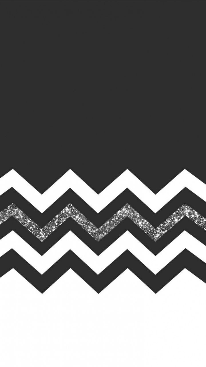 Black And White Glitter Iphone Wallpaper Girly Cool Backgrounds For Iphone Chevron Wallpaper
