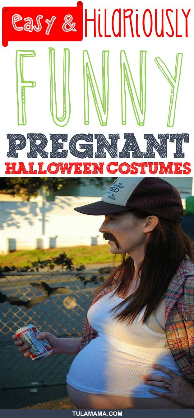 easy and hilariously funny pregnant halloween costumes | baby