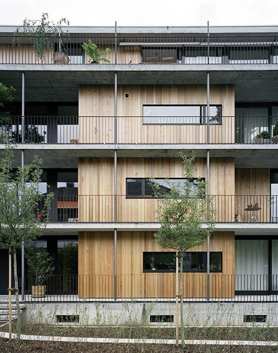 Subtilitas architecture edif cios habita o social for Modernes haus zurich