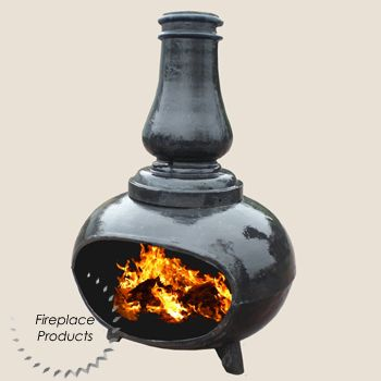 Modern Style Chiminea I Need One Of These For My Porch Wood