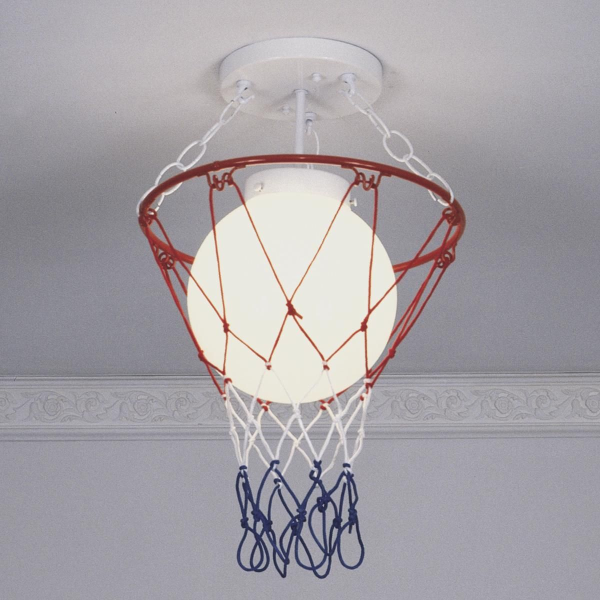 Basketball And Net Ceiling Light