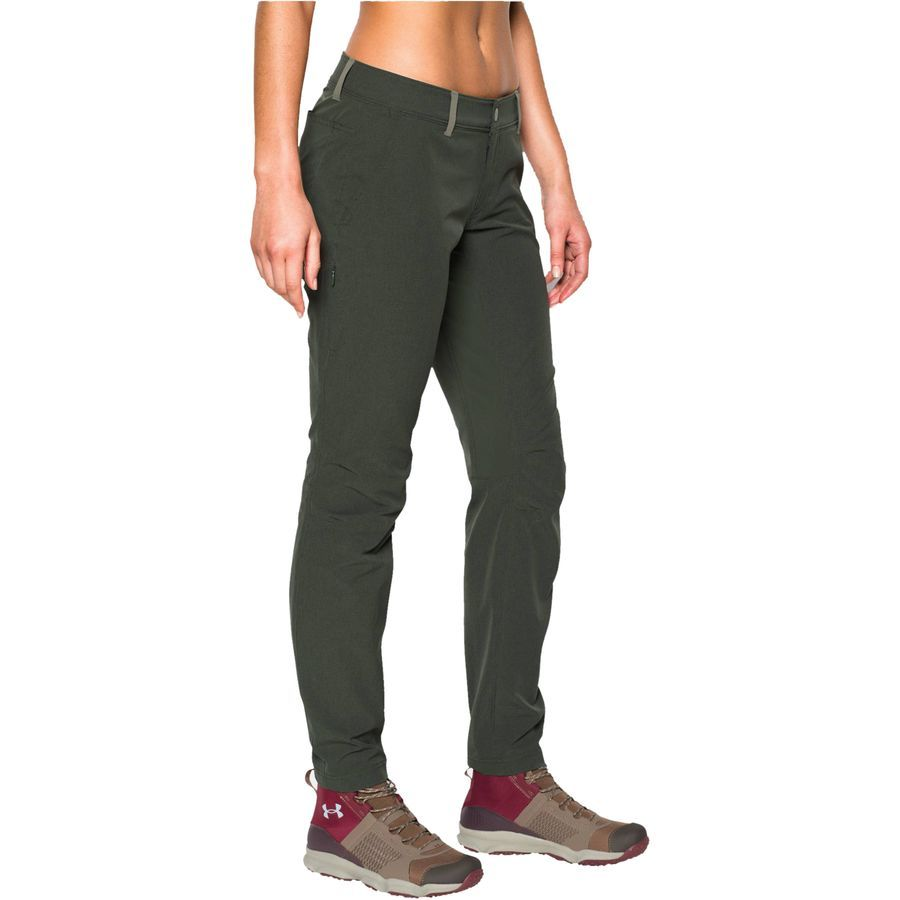0835b376 Under Armour Armourvent Trail Pant - Women's Combat Green/Riverbed ...