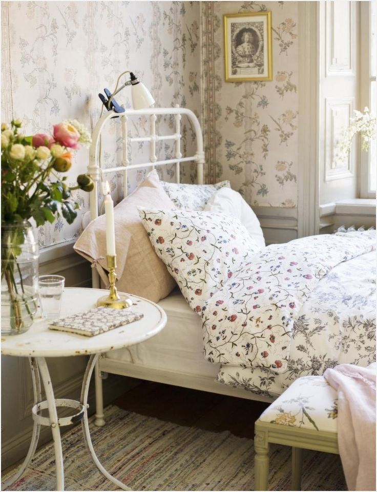 Amazing Country Decorating Ideas For Unique Home 967: 45 Amazing Romantic Country Bedroom Decorating Ideas