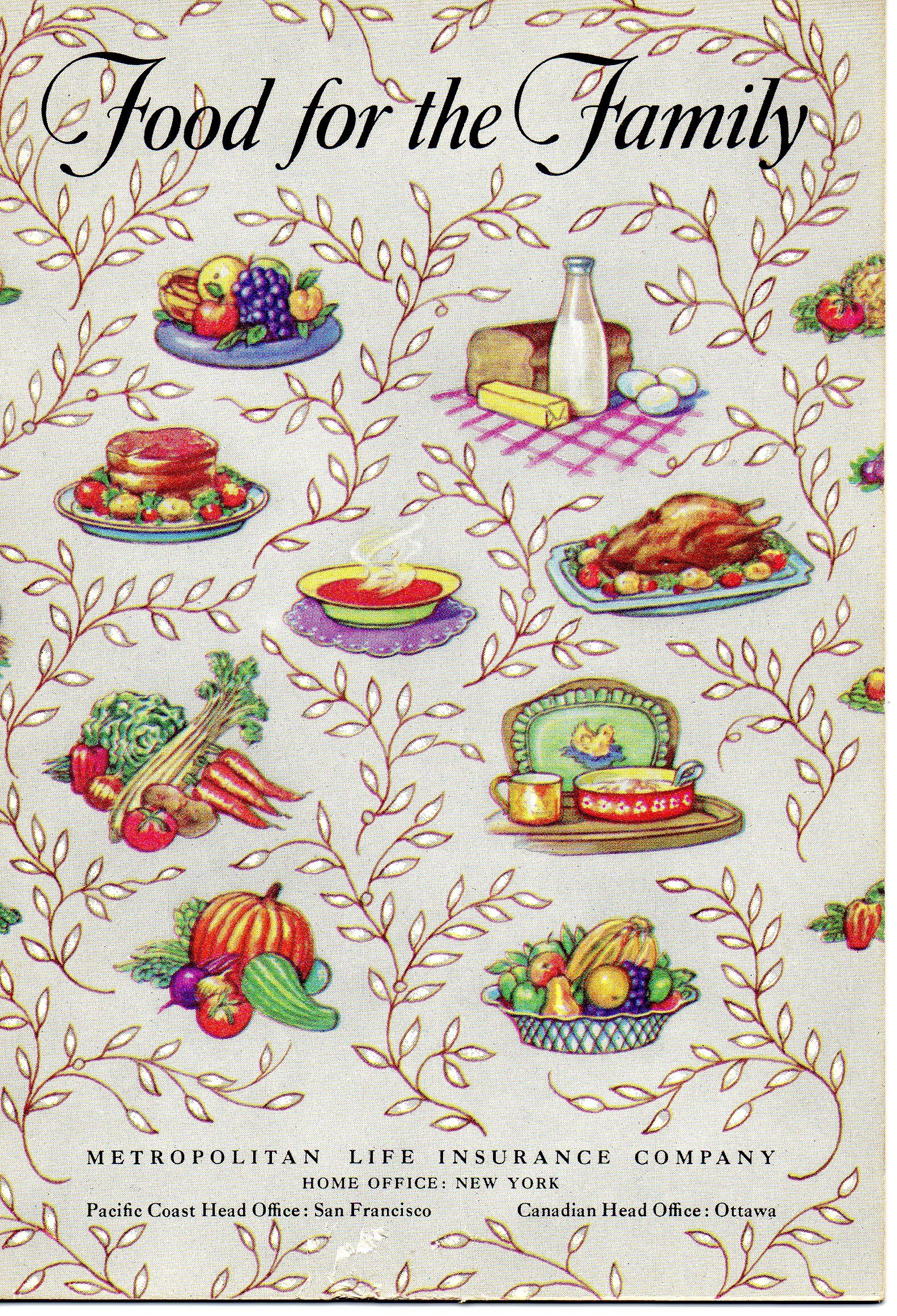 Food for the family 1954 metropolitanlife insurance