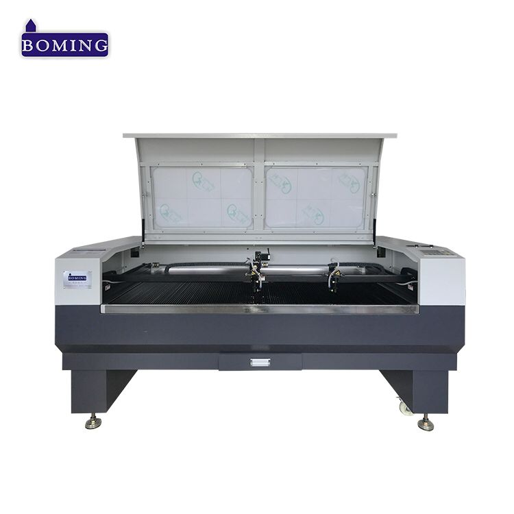 Sri Lanka Agent 30w 60w 80w 100 Watt 3020 6090 Barcode Laser Engraver With Two Seperate Head Laser Engraving Machine Organic Glass 150w