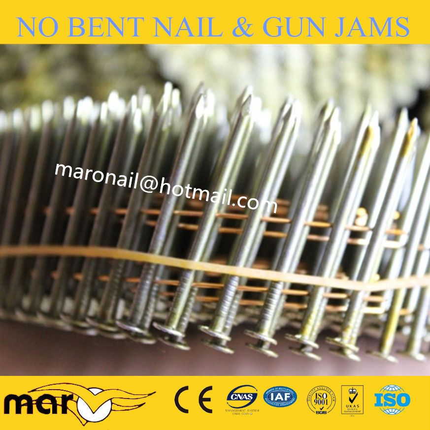 Common Pallet Coil Nail Roofing Nails Coil Pallet
