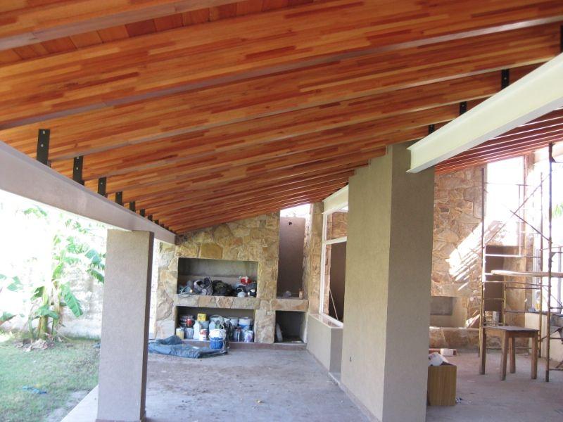 Cielorrasos de madera buscar con google aberturas for Cielorrasos de casas