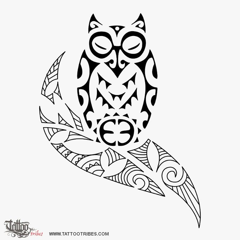 Pin By Abigail Bellavia On Tattoo Options Tribal Owl Tattoos Owl Tattoo Tribal Tattoos
