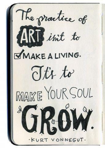 Vonnegut, art